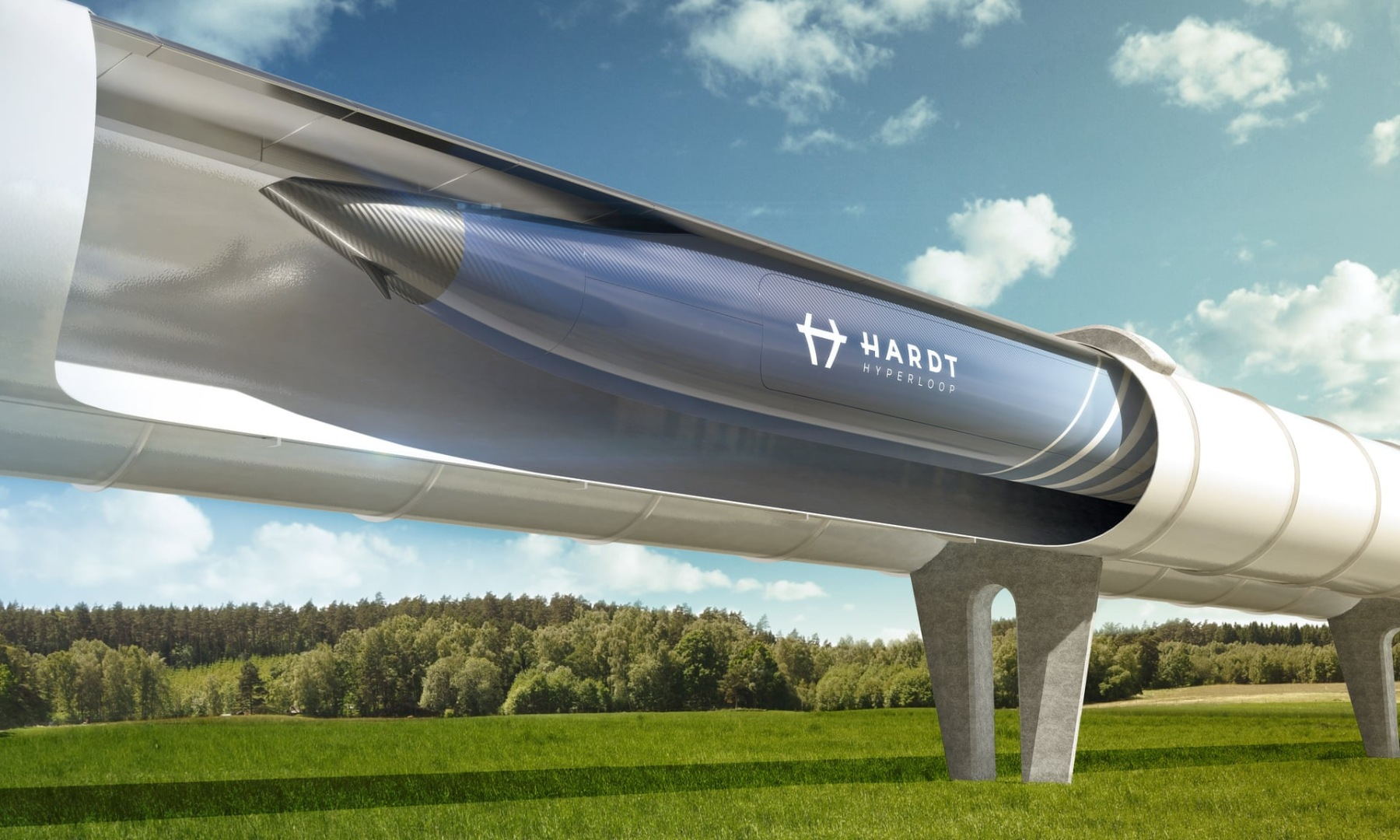 Голландия планирует соединить линиями Hyperloop пять европейских городов